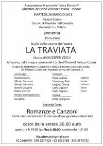 La Traviata Palazzo Cusani